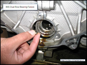 Porsche Bearing ims dual row bearing failure
