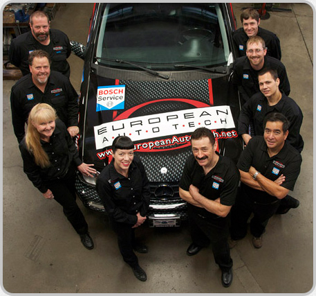 The European Auto Tech Team specializes in the repair of Audi, BMW, Mercedes, Mini, Porsche and VW in Tucson