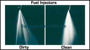 Clean and Dirty Fuel Injectors