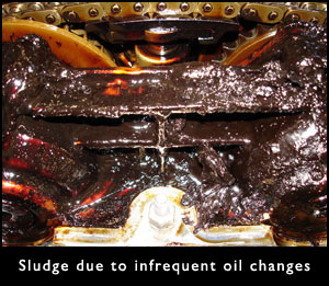 Engine Oil Sludge