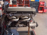 Jeffs engine with nice TMS headers installed
