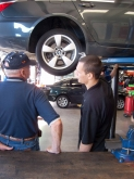 Zach teaching all there is to know about tires. If you wanted to know or not...