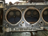 Bank 2 cylinder head gasket fire rings ovaled